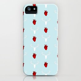 Hannibal Stag & Hearts iPhone Case