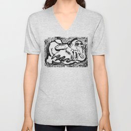 Wind in the Meadow Unisex V-Neck