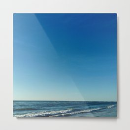 Oceanic landscape: Lacanau  2 Metal Print
