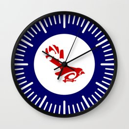 Fantail Air Force Roundel Wall Clock