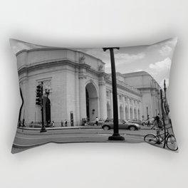 Union Station, No. 1 Rectangular Pillow