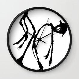 Violent Hump Wall Clock