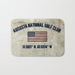 Augusta National Golf Club, Coordinates Bath Mat