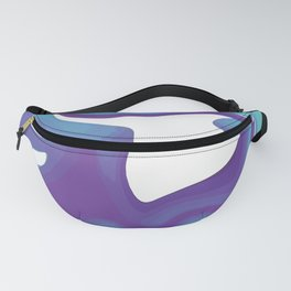 Liquid Marble Purple Shades 010 Fanny Pack