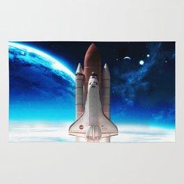 NASA Rocket Rug