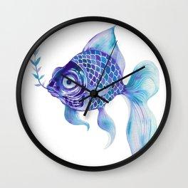 Baby Blue #5 Wall Clock