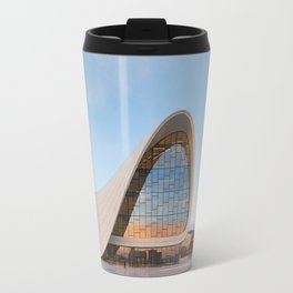 Zaha H A D I D | architect | Heydar Aliyev Center Travel Mug
