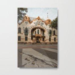 Raichle palace in Subotica, Serbia / Fall / Autumn Metal Print