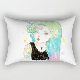I'M A UNICORN Rectangular Pillow