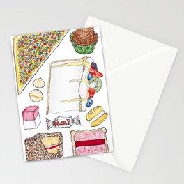Australiana Foods Stationery Cards