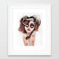 rocky horror Framed Art Prints featuring Untitled III by Rouble Rust