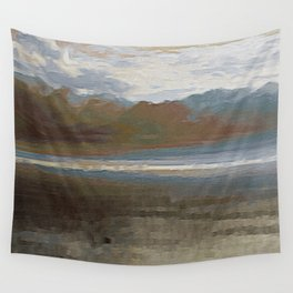 Yet another lake & mountain landscape | 1 Wall Tapestry