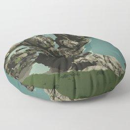 Dungeon Provincial Park Floor Pillow