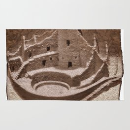 The Cliff Dwellers - Legends Of America Rug