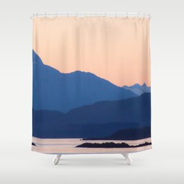 Cool Mountains & Warm Skys Shower Curtain