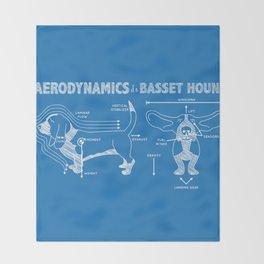 The Aerodynamics of a Basset Hound Throw Blanket