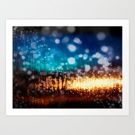 The Magic of 03:00 Art Print