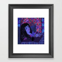 Little Briar Rose Framed Art Print