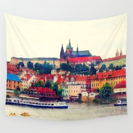 Prague Hradczany Wall Tapestry