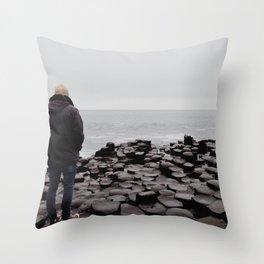 Giant's Causeway, Northern Ireland Throw Pillow