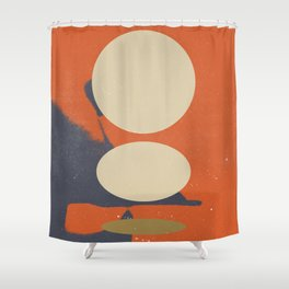 Abstract Sketch 003 Shower Curtain