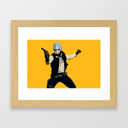 SoloCop Framed Art Print