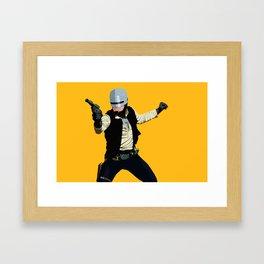 SoloCop Framed Art Print