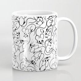 Many Mini Mice Coffee Mug
