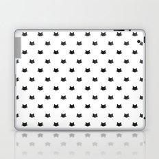 Black Cats Pattern Laptop & iPad Skin