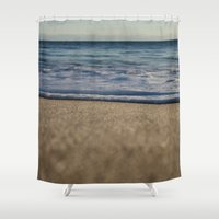 blanket Shower Curtains featuring BLANKET by jenna chalmers