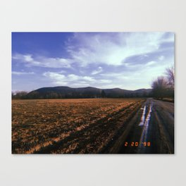 Back Roads Canvas Print