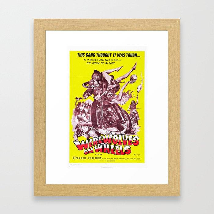 Werewolves on Wheels Framed Art Print