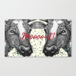 Mood cows Canvas Print