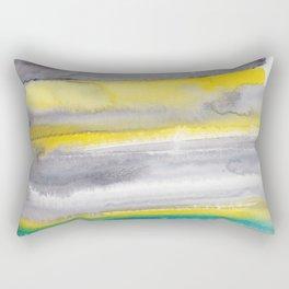 18   | Abstract Minimal Watercolor Painting | 191223 Rectangular Pillow