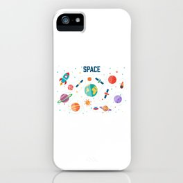 Space Life iPhone Case