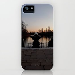 Italian Gardens at Sunset iPhone Case