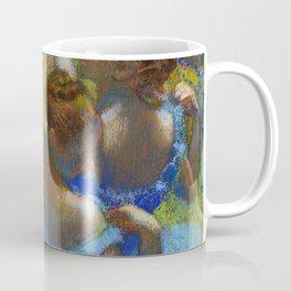 "Edgar Degas ""Dancers in Blue"" Coffee Mug"