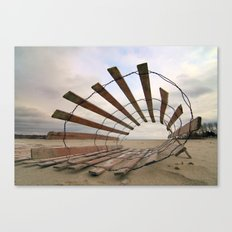 Roll Play Canvas Print