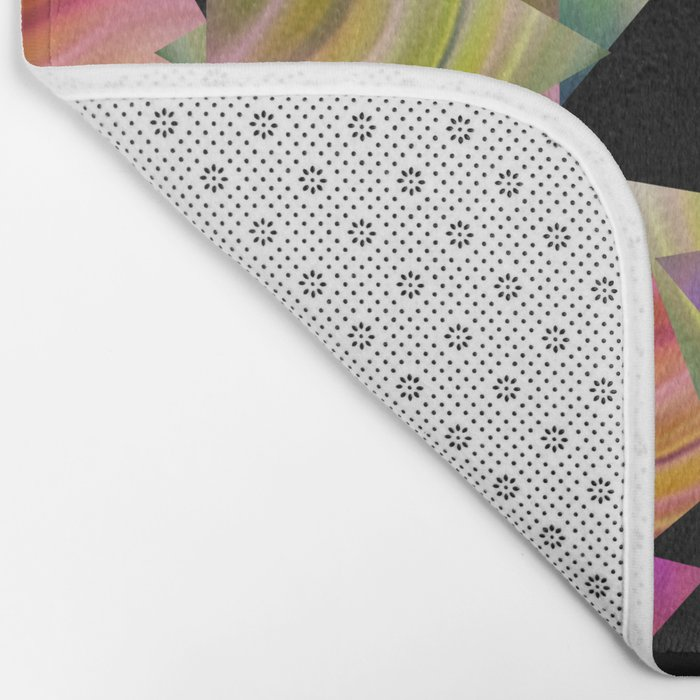 Abstraction . Rainbow triangles . Bath Mat
