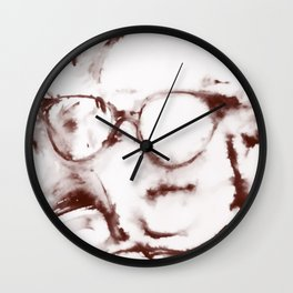 The Visionary Sepia Wall Clock