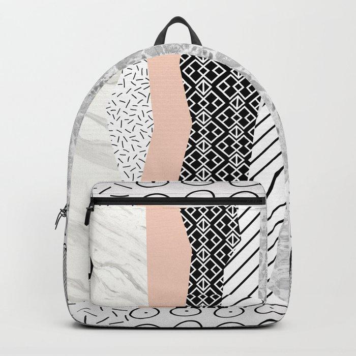 Geometric shapes 02 Backpack