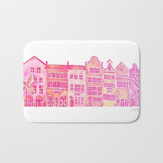 Tropical Homes – Pink Ombré Bath Mat