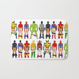 Superhero Butts Badematte