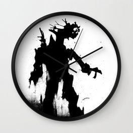 Screaming Ent Wall Clock
