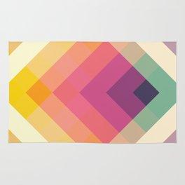 Retro Rainbow Rug
