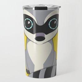 Forest Raccoon Nursery Set Travel Mug