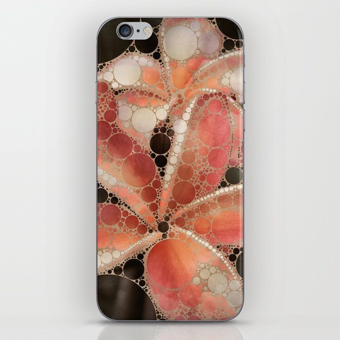 Percolated Tropical Flowers iPhone Skin