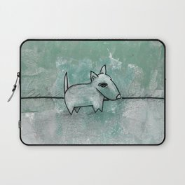 Dog No.1q by Kathy Morton Stanion Laptop Sleeve