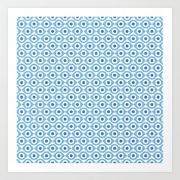 Lotta Eyes 01 Art Print