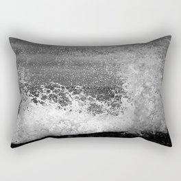 Crashing waves II Rectangular Pillow